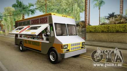 GTA 5 Brute Taco Van pour GTA San Andreas
