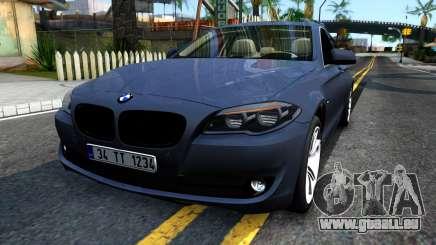 BMW 520d F10 2012 pour GTA San Andreas