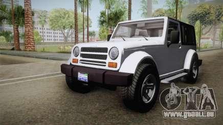 GTA 5 Canis Mesa SWB pour GTA San Andreas