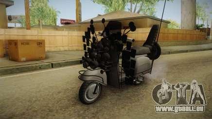 GTA 5 Pegassi Faggio Extreme Tuning v1 pour GTA San Andreas