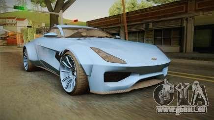 GTA 5 Dewbauchee Specter Custom für GTA San Andreas