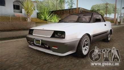 GTA 5 Dinka Blista Cabrio für GTA San Andreas