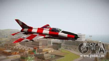MIG-21 Kockica pour GTA San Andreas