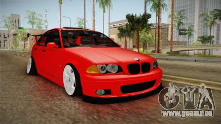 BMW 3 Series E46 CamberKinG pour GTA San Andreas