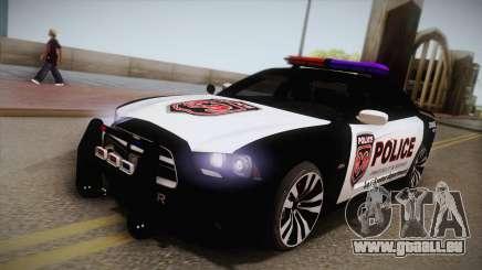 Dodge Charger SRT8 Police 2012 pour GTA San Andreas