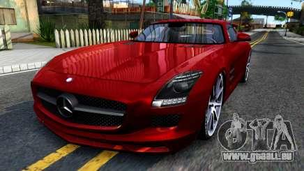 Mercedes Benz SLS AMG 6.3 2011 pour GTA San Andreas