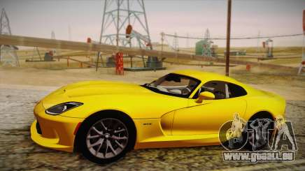 Dodge Viper SRT 2013 pour GTA San Andreas
