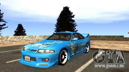 Nissan Skyline GTS25-t Mk.IX [R33] IVF Tunable pour GTA San Andreas