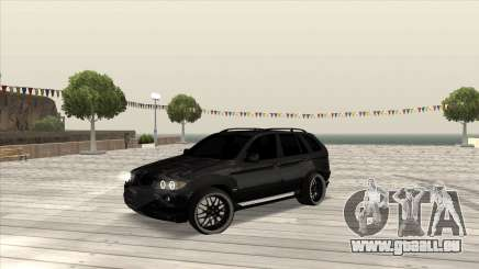 BMW X5 HAMANN pour GTA San Andreas