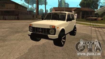 Lada Urban 2016 für GTA San Andreas
