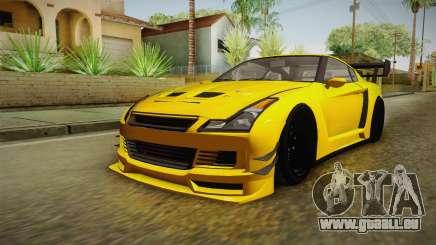 GTA 5 Annis Elegy RH8 Custom pour GTA San Andreas