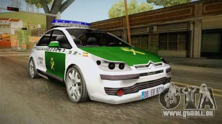 Citroen C4 Guardia Civil pour GTA San Andreas