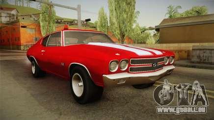 Chevrolet Chevelle SS FBI 1970 pour GTA San Andreas