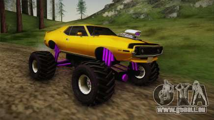 AMC Javelin AMX 401 1971 Monster Truck pour GTA San Andreas