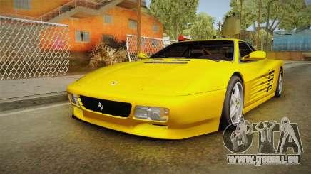 Ferrari 512 TR FBI pour GTA San Andreas