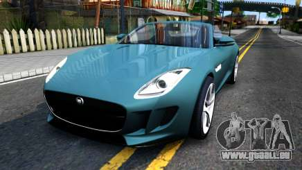 Jaguar F-Type für GTA San Andreas