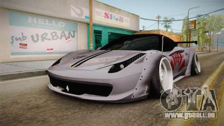 Ferrari 458 Liberty Walk Performance für GTA San Andreas