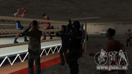 Illégale du tournoi de Boxe V2.0 pour GTA San Andreas