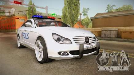 Mercedes-Benz CLS 500 Turkish Police für GTA San Andreas