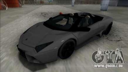 2009 Lamborghini Reventon Roadster FBI pour GTA San Andreas