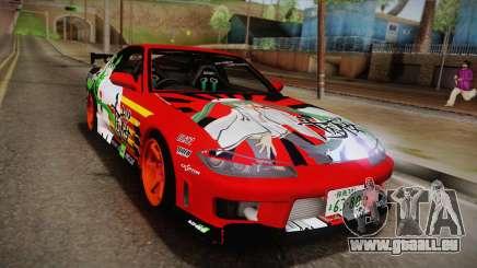 Nissan 180SX Facelift Silvia S15 Hatsune Miku für GTA San Andreas