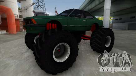 1984 BMW M6 E24 Monster Truck pour GTA San Andreas