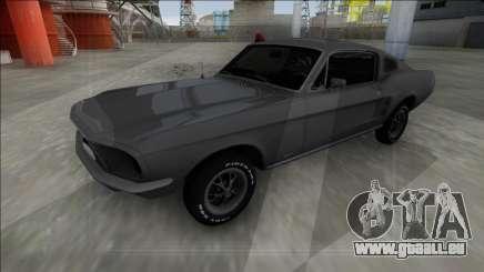 1967 Ford Mustang FBI für GTA San Andreas