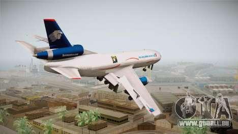 McDonnell-Douglas DC-10 Aeromexico pour GTA San Andreas laissé vue