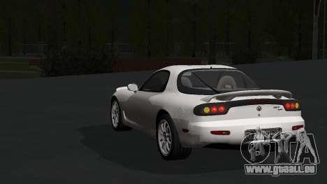 Mazda RX-7 1991 RUS pour GTA San Andreas laissé vue