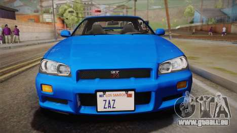 Nissan Skyline GT-R R34 Mk.X für GTA San Andreas