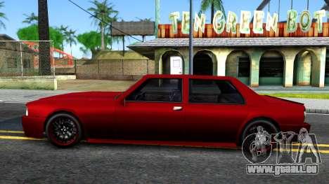 Vincent German Style pour GTA San Andreas laissé vue