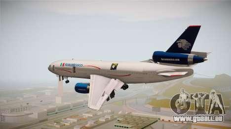 McDonnell-Douglas DC-10 Aeromexico pour GTA San Andreas vue de droite