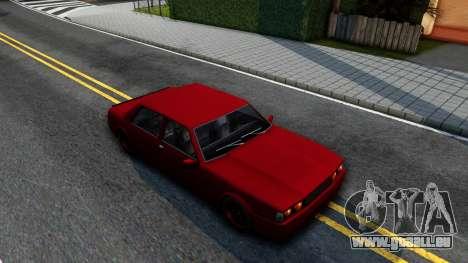 Vincent German Style pour GTA San Andreas vue de droite