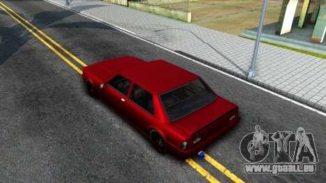 Vincent German Style pour GTA San Andreas vue arrière