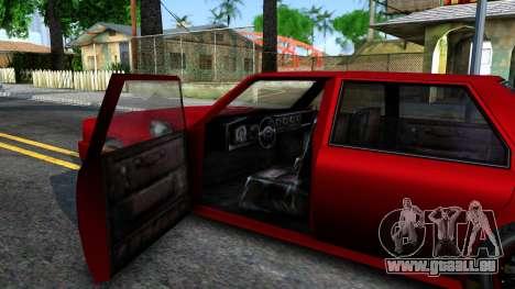 Vincent German Style pour GTA San Andreas vue intérieure