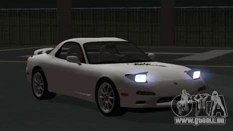 Mazda RX-7 1991 RUS pour GTA San Andreas