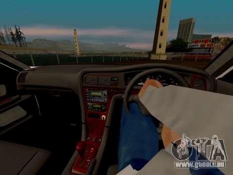 Toyota Chaser für GTA San Andreas obere Ansicht