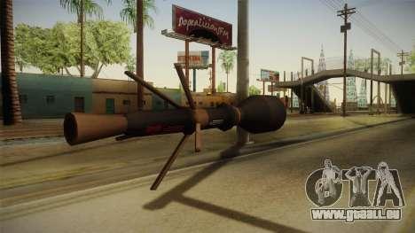 Blacklight: Retribution - RL5 pour GTA San Andreas deuxième écran