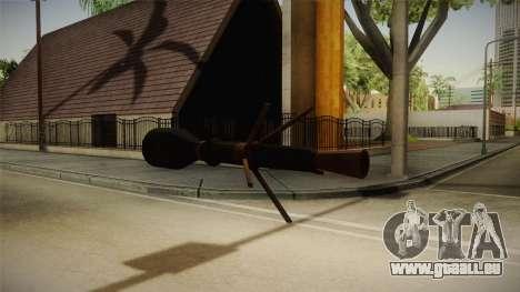 Blacklight: Retribution - RL5 pour GTA San Andreas quatrième écran