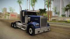 Kenworth W900 ATS 6x4 Cab Low pour GTA San Andreas