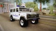 Land Rover Defender 110 Polizei