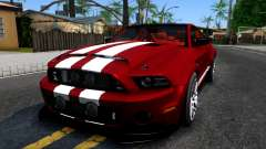 Ford Mustang Shelby GT500 2013 v1.0 pour GTA San Andreas
