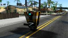 Claptrap From Borderlands für GTA San Andreas