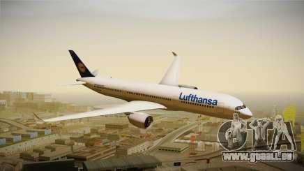 Airbus A350 Lufthansa für GTA San Andreas