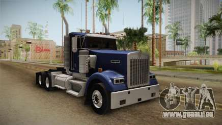 Kenworth W900 ATS 6x4 Cab Low für GTA San Andreas