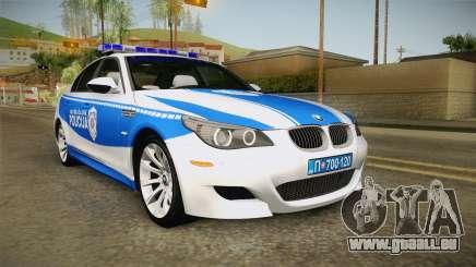 BMW M5 E60 Saobracajna Policija für GTA San Andreas