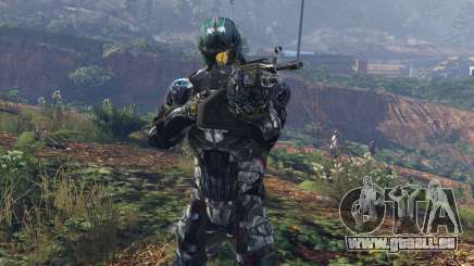 Crysis 2 Nanosuit Re-Texture N7 für GTA 5