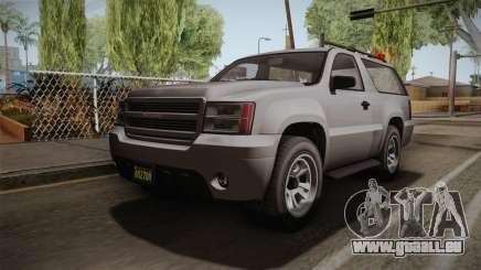 GTA 5 Declasse Granger 2-doors pour GTA San Andreas
