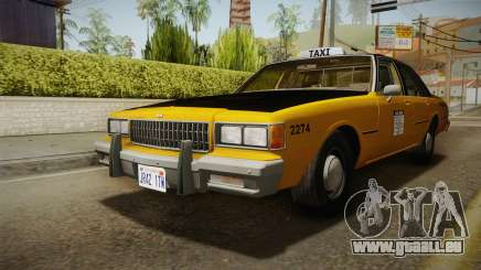 Chevrolet Caprice Taxi 1986 IVF pour GTA San Andreas