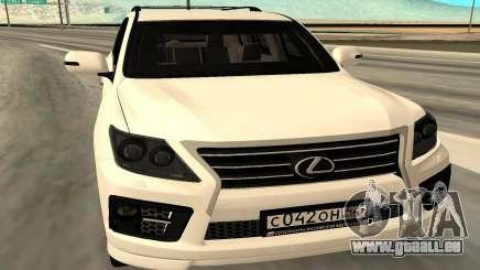 Lexus LX570 AG Armored pour GTA San Andreas